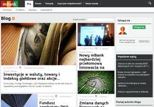 mBank bloguje! – www.mbank.pl/blog